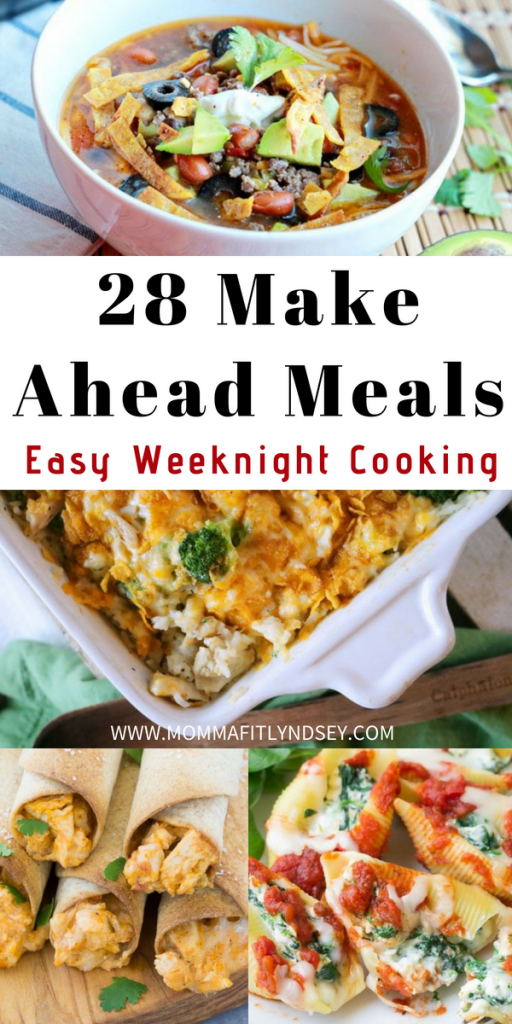 28 Make Ahead Meals for Easy Weeknight Dinners images