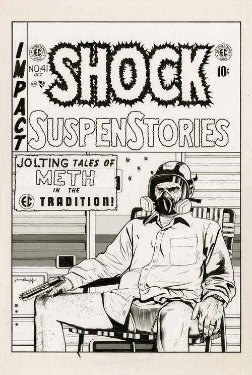 fantagraphics:  jimrugg:  EC Comics tribute:It Didn't Rot Our...