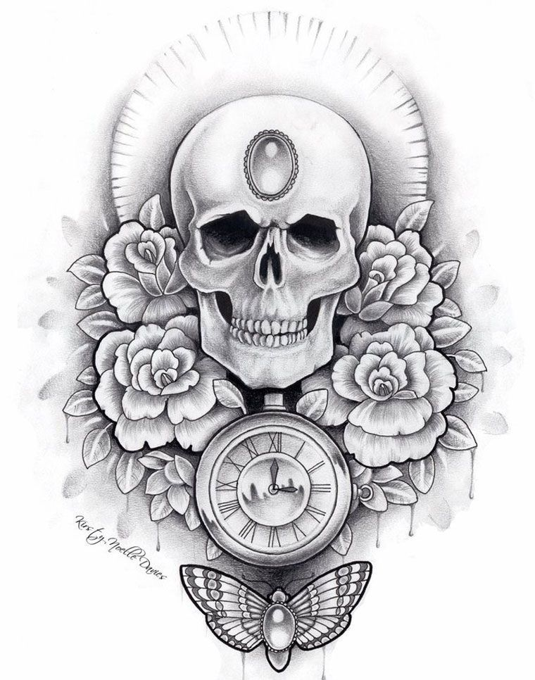 Pin On Skull Tattoo Ideas