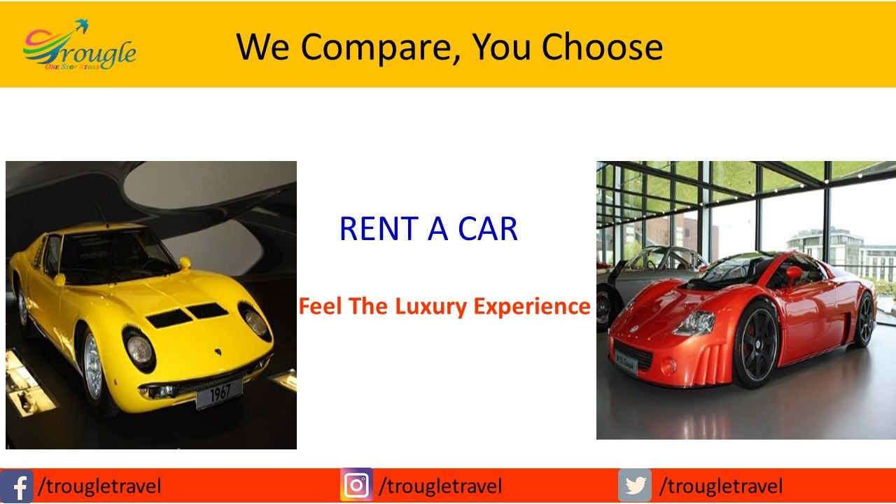 Luxury rental cars, Choose the cheap rental car deals from