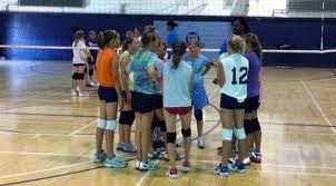I Love Camp Because You Start From Nothing Nothing To Becoming Good You May Become A Pro The Coaches Will Encourage Volleyball Camp Coaching How To Become