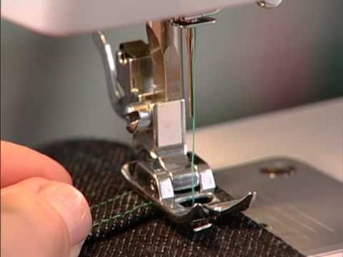Sewing machine use and maintenance techniques
