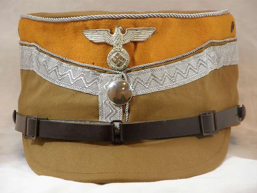 5079e3a65da Rare SA Obergruppenfuhrer und Gruppenfuhrer kepi German Uniforms