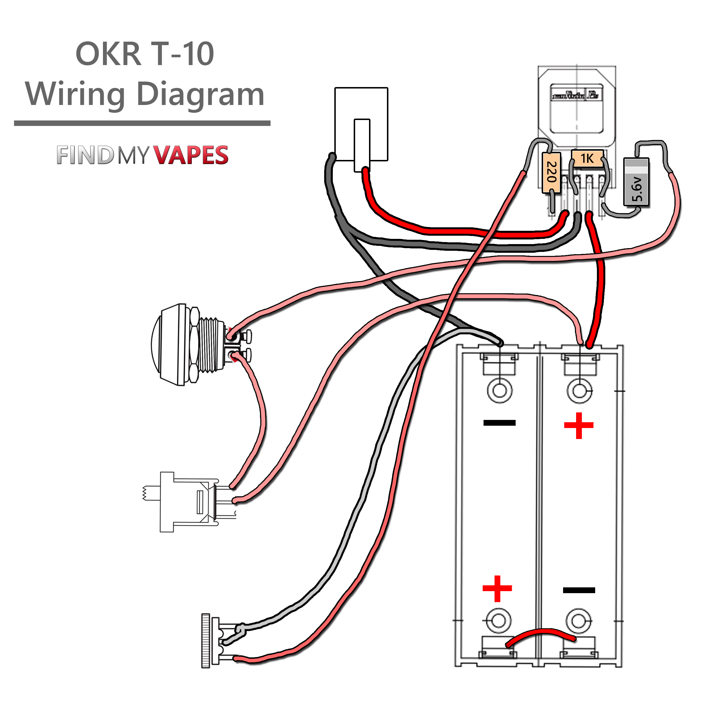 How to Build an OKR Box Mod Tutorial Vape mods box, Box