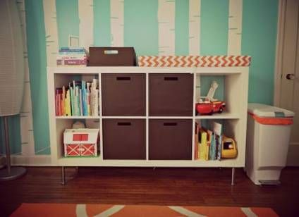 Trendy Kallax Toy Storage Changing Tables 32 Ideas