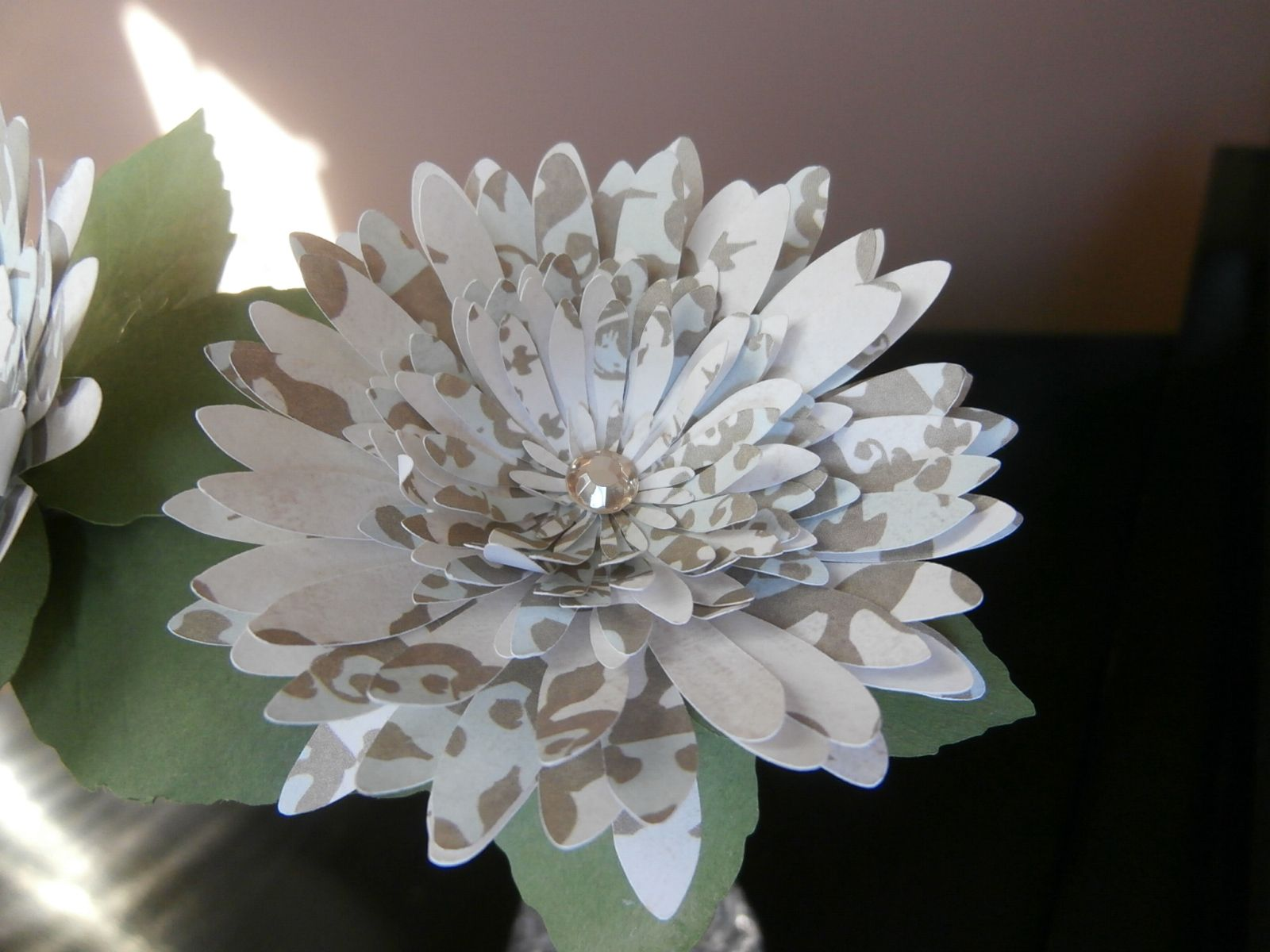 Homemade paper flowers paper crafts pinterest homemade by mypapercreations2 paper flowershomemadepaper mightylinksfo