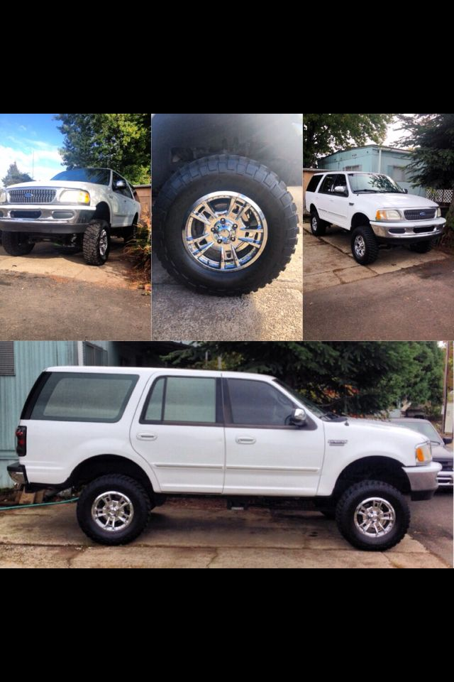 My 1997 Ford Expedition With 6 Inch Lift Kit Ford Expedition