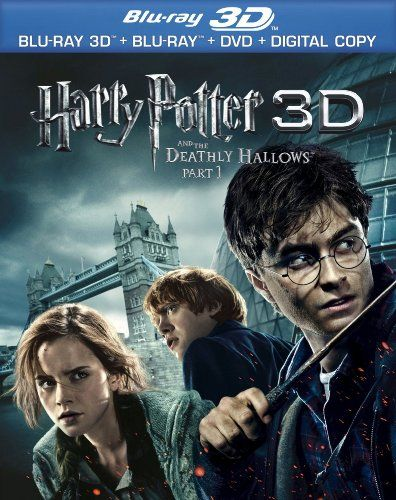 Harry Potter And The Deathly Hallows Part 1 3d Blu Ray 3d Combo Pack With Blu Ray 3d Blu Ra Deathly Hallows Part 1 Deathly Hallows Movie Harry Potter Movies
