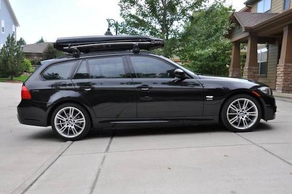 My Previous E91 Setup Rack Setups Roof Box Bmw Bmw Wagon