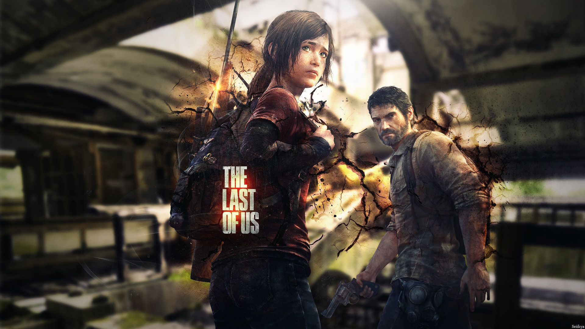 The Last Of Us Game Ellie And Joel Hd Wallpaper Hogar