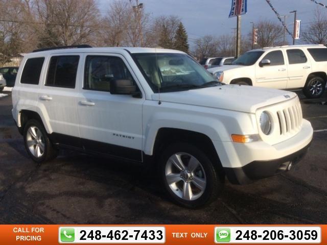 2014 Jeep Patriot Latitude 28k miles $17,247 28156 miles 248-462-7433 Transmission: Automatic  #Jeep #Patriot #used #cars #GollingChrysler #Waterford #MI #tapcars