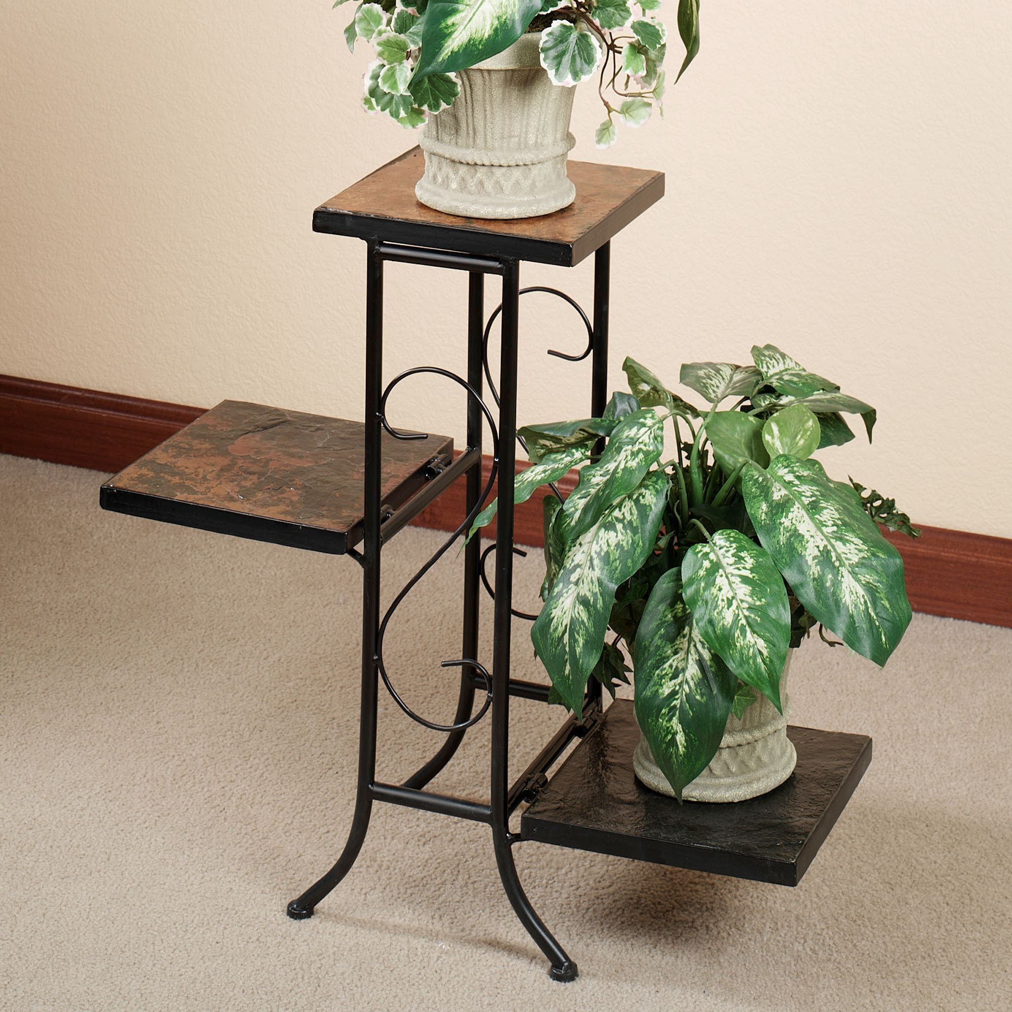 Corner Table For Plants Porterville Indoor Outdoor Tiered Plant Stand Plant