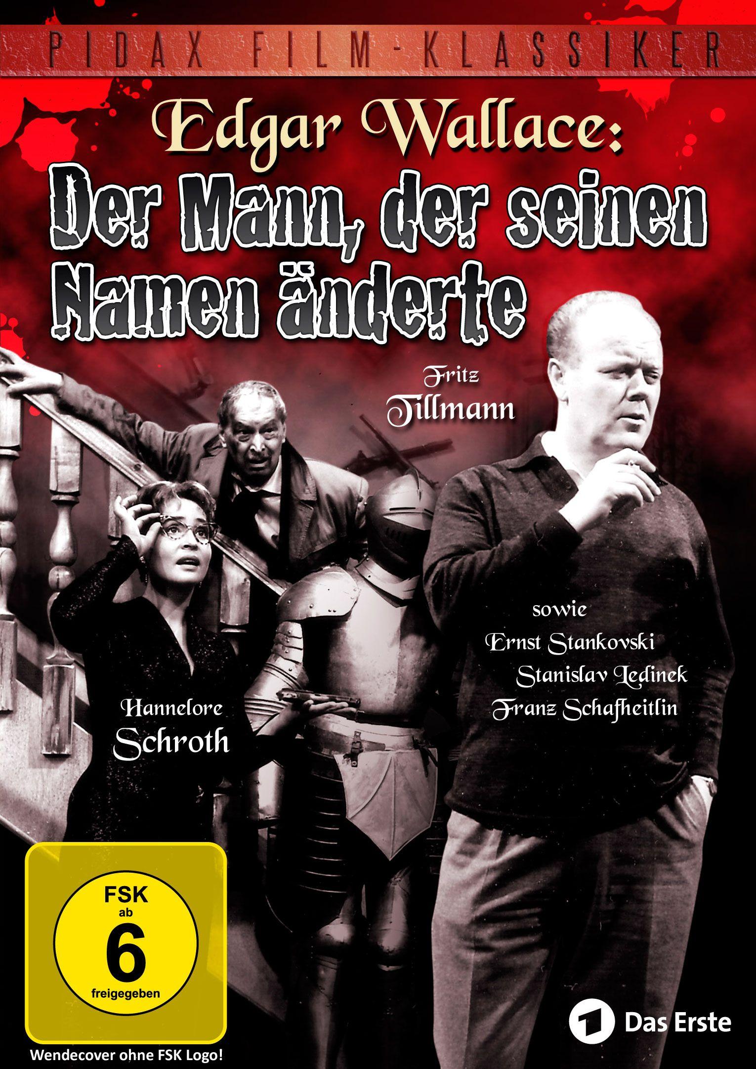 Ab 24.11.2015 bei uns! Hochspannende Edgar-Wallace-Verfilmung mit Fritz Tillmann und Hannelore Schroth