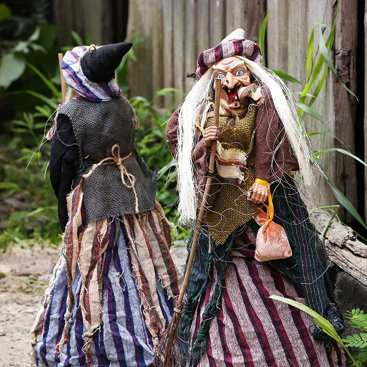Decorations, Props, Brooms, Witch Bars, KTV, Haunted House