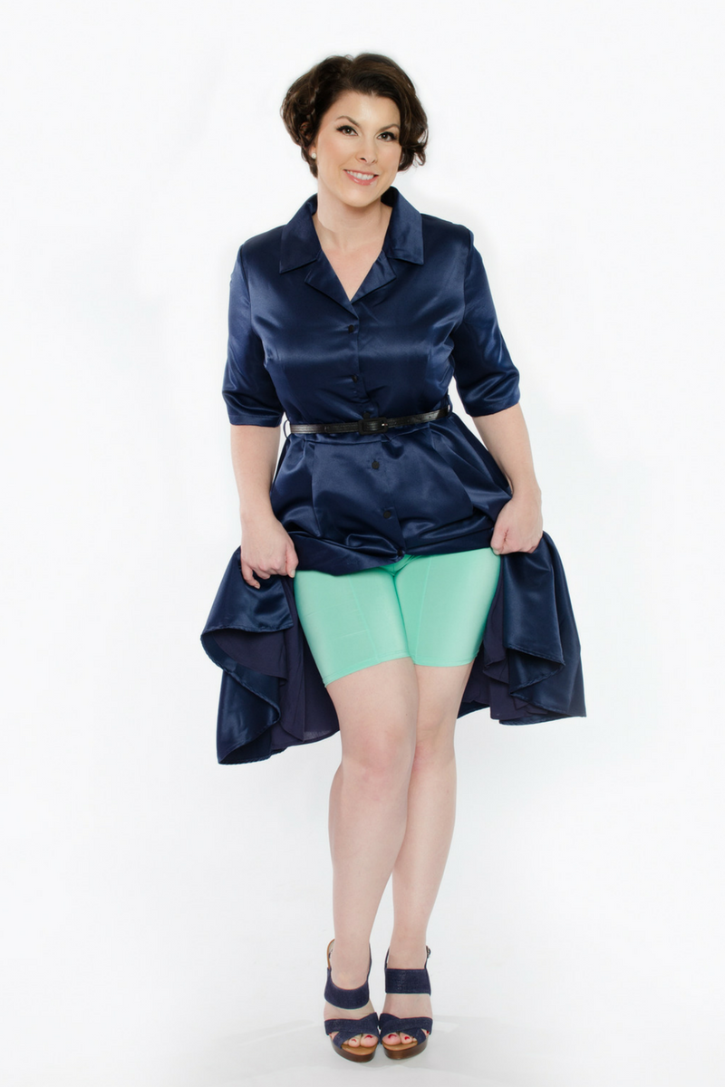 Shorts to wear under dresses plus size