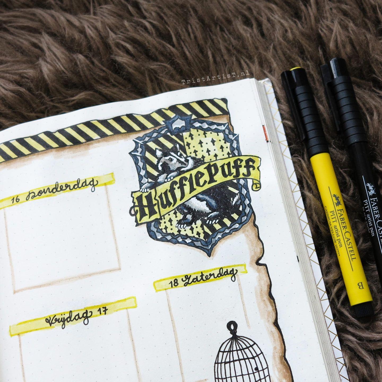 Harry Potter Tagebuch Hufflepuff