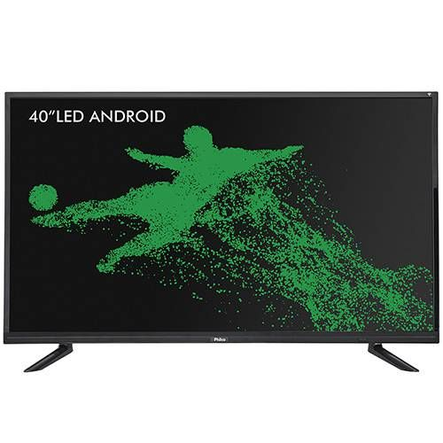 7b341947168 Smart TV LED Android 40 Philco PTV40E20DSGWA Full HD com Conversor Digital  2 HDMI 1 USB