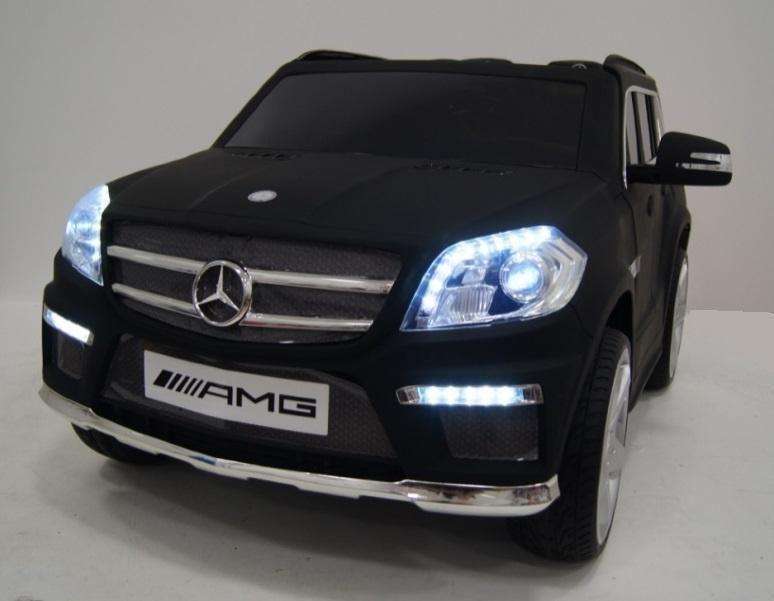 Mercedes Benz Gl63 Amg Mat Zwart 12v Kinder Auto Met Lederen Zitje Speelgoedauto Elektrisch Accuauto Kinderauto Speelgoedauto S Mercedes Benz Mercedes
