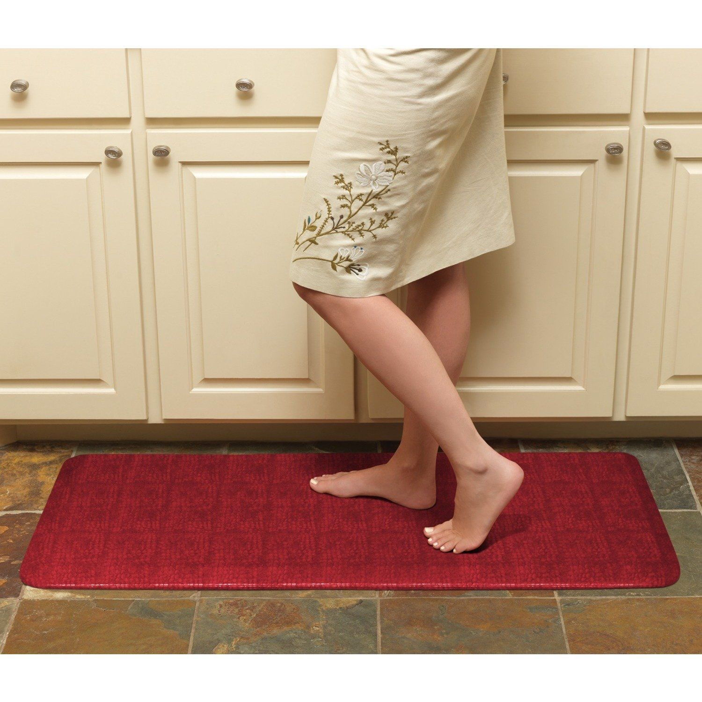 Designer Comfort Pebble Anti Fatigue Gelpro 20 X 48 Inch Floor Mat In Caramel As Is Item Caramel Brown Kitchen Mat Anti Fatigue Kitchen Mats Comfort Mats
