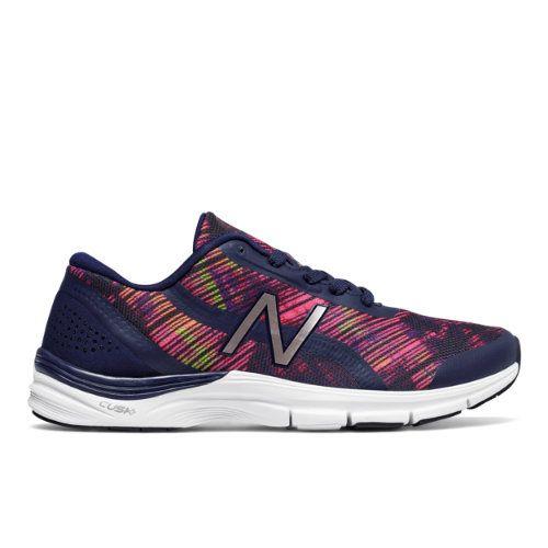 New Balance 711v3 Graphic Trainer Women's Cross-Training Shoes -  Navy/Pink/Orange