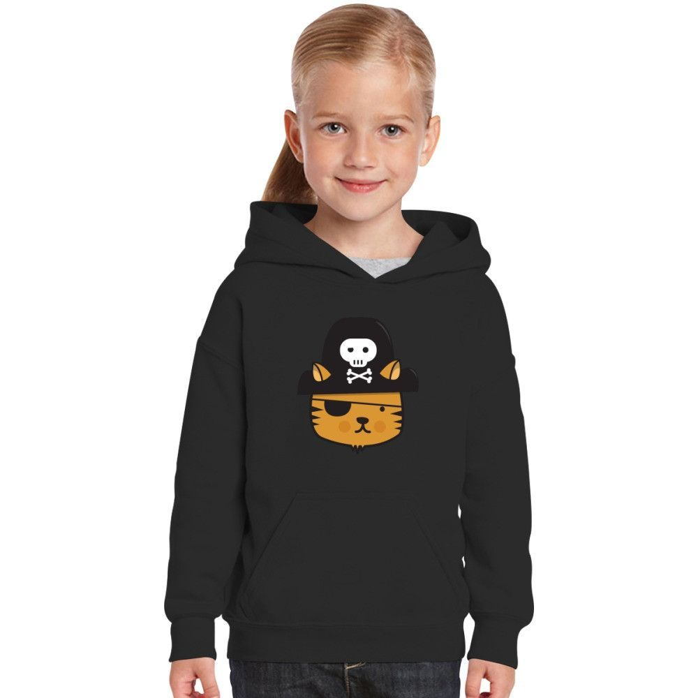 Pirate Cat - Jumpy Icon Series Kids Hoodie