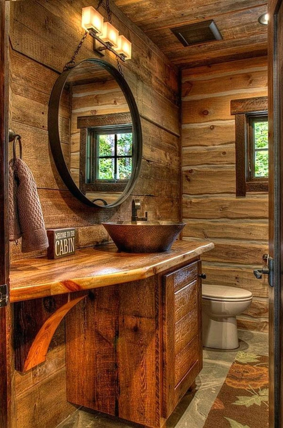 15+ Top And Fantastic Rustic Bathroom Designs That Will Make Feeling Enjoy #rusticbathroomdesigns