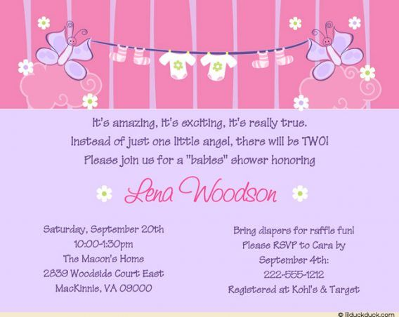 Baby Shower Baby Shower Girl Invitation Wording To Help Your Exquisite Baby