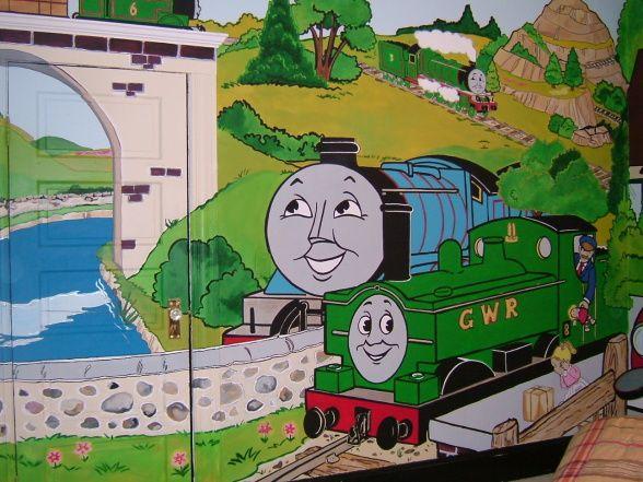 Sonu0027s Thomas The Train Bedroom   Boysu0027 Room Designs   Decorating Ideas    HGTV Rate