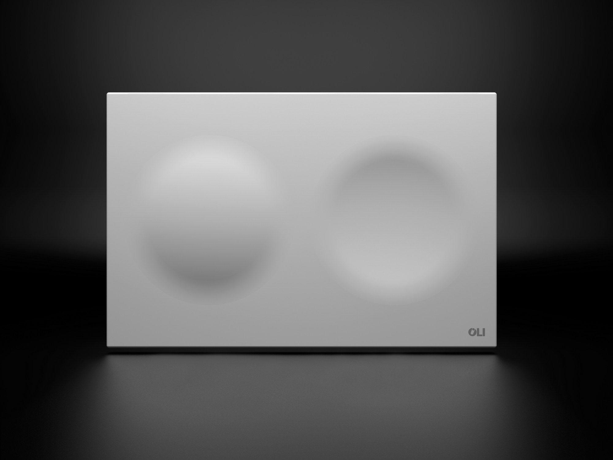 ceramic flush plate moon by oli bathroom pinterest ceramics