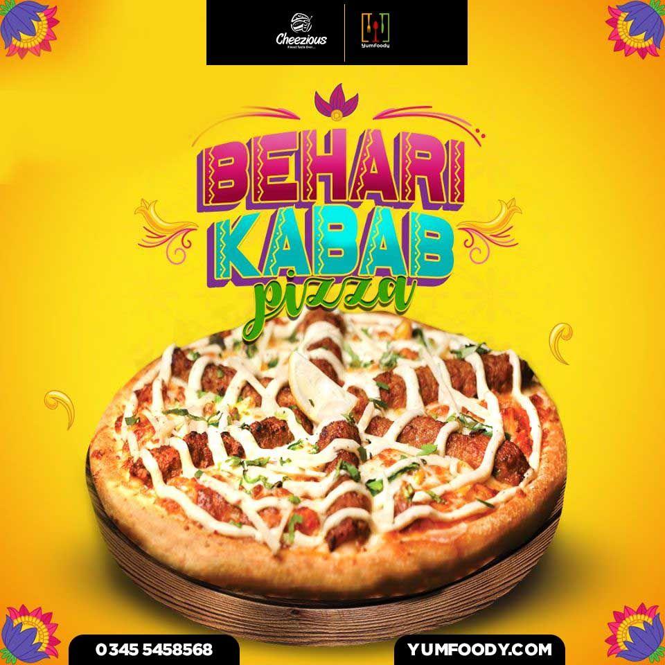 behari kebab pizza in 2020 pakistani food kebab food behari kebab pizza in 2020 pakistani