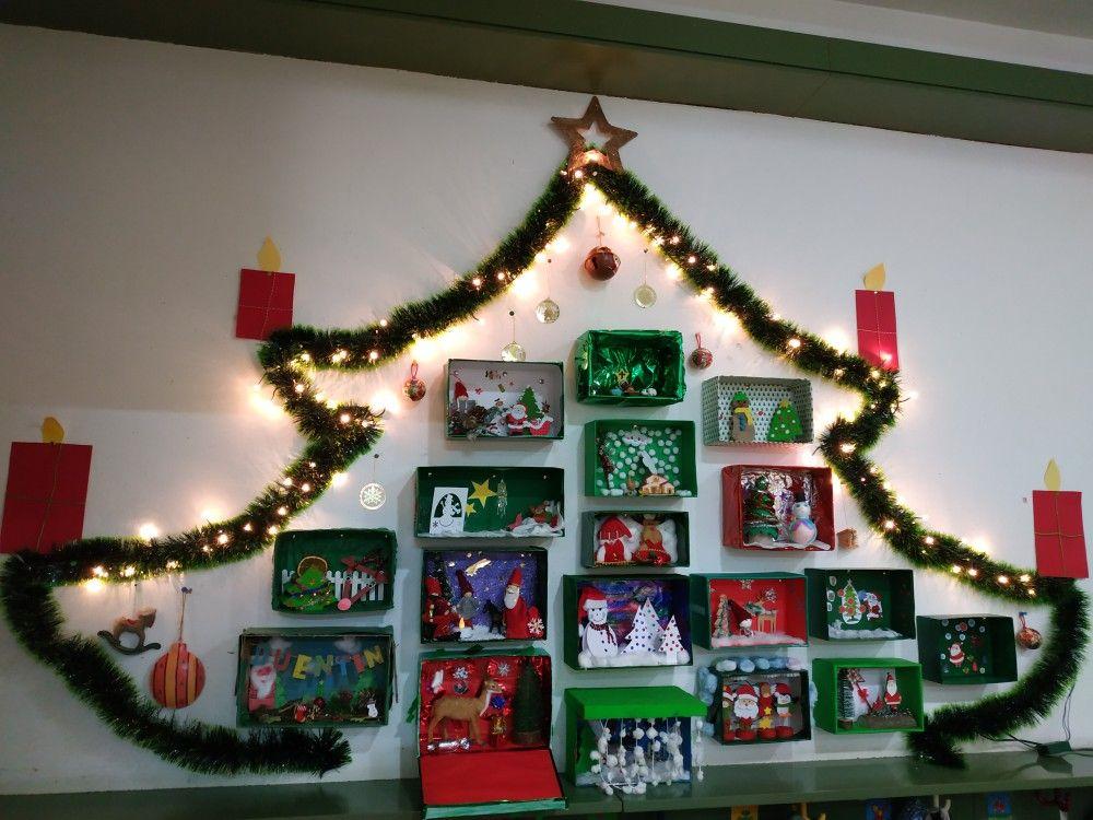 Adventkalender Weihnachtlich Gestalten Basteln Weihnachten Kindergarten Basteln Weihnachten