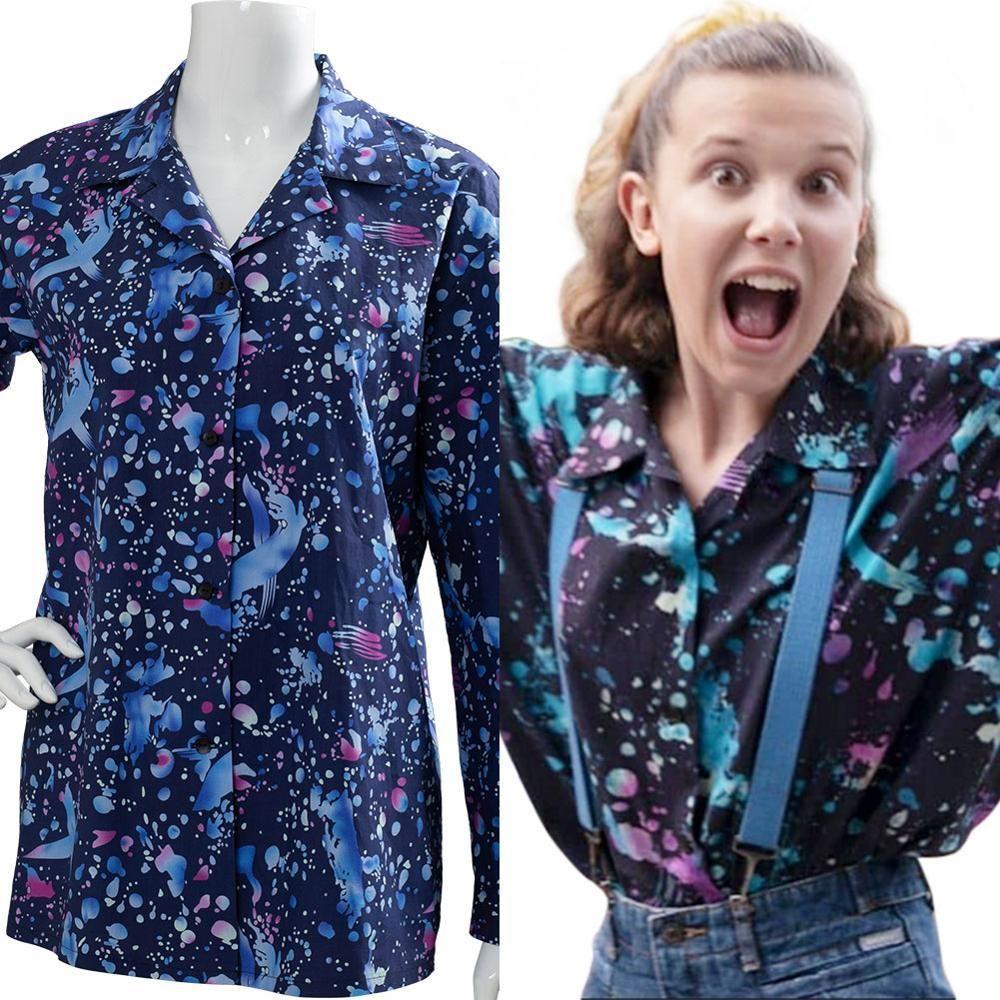 Adult Stranger Things 3 Eleven/'s Mall Dress Costume Halloween Netflix El 11 Gift