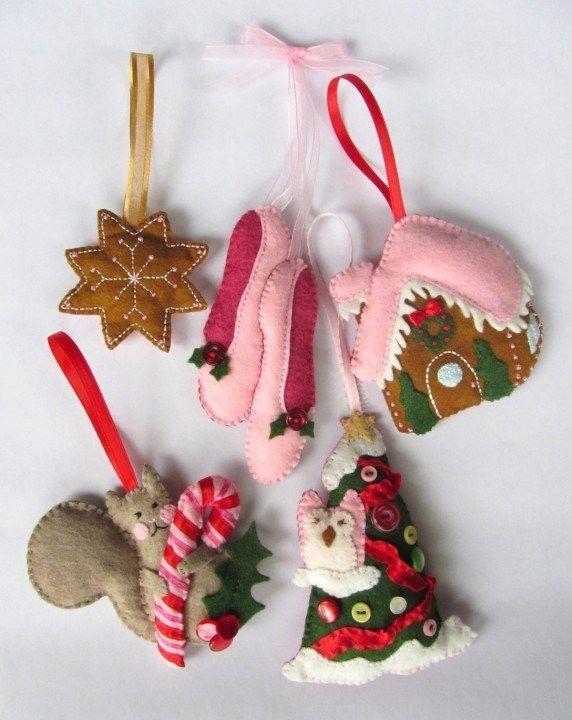 Christmas / Winter Crafts American Felt and Craft- The Blog Felt