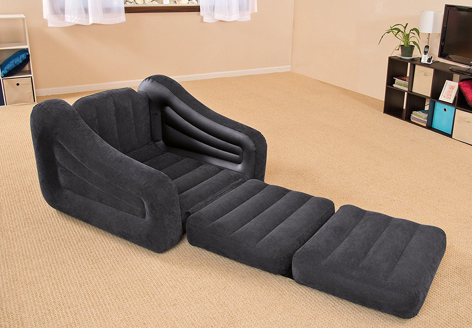 Bedroom Intex Pull Out Chair Inflatable Bed X And Craftsman