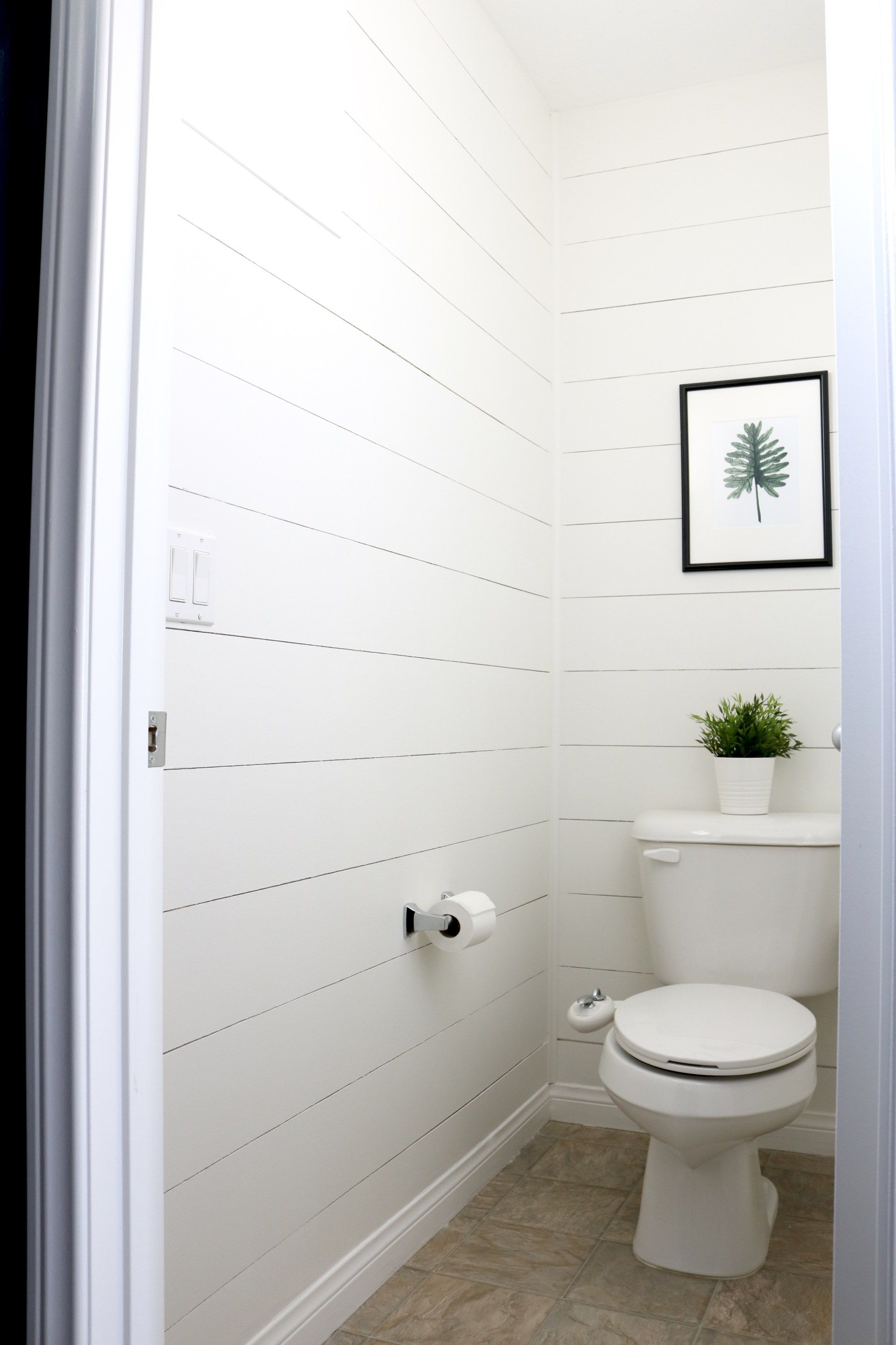 Master Bath Makeover Part 3 The Reveal Tiny Bathroom Makeover Bath Makeover Water Closet Decor