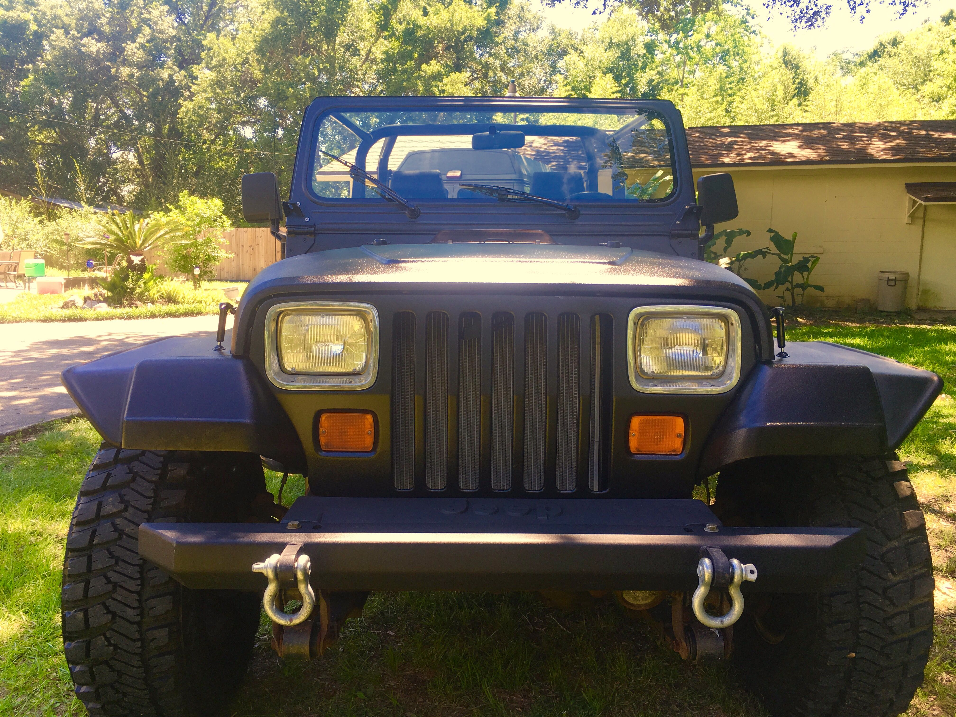 95 YJ line x ultra body paint job YJ jeeps Pinterest