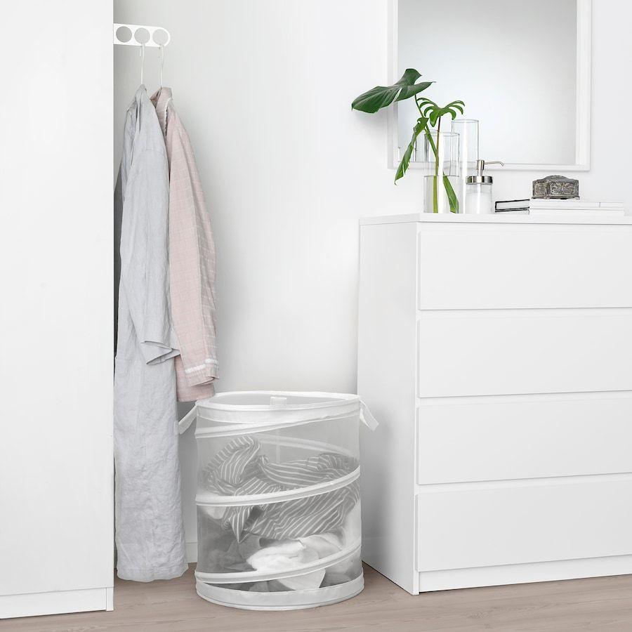 Fyllen Laundry Basket White 21 Gallon In 2020 Laundry Basket