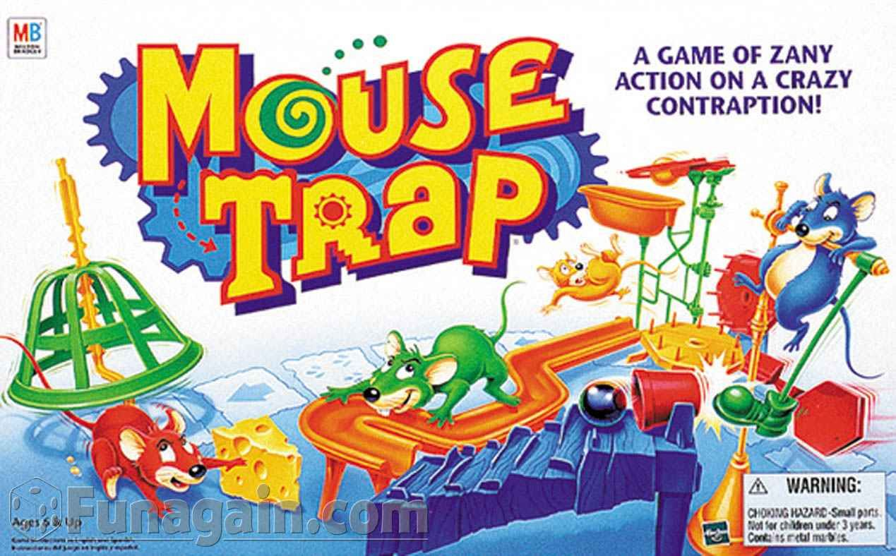 Mouse Trap Game Clip Art