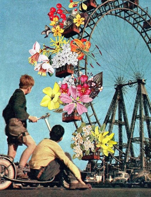 Collages of Eugenia Loli - The Findings