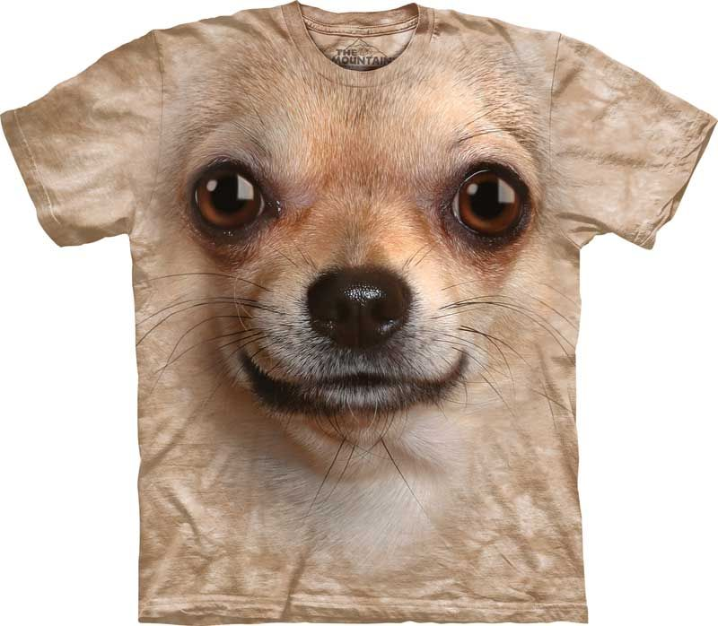 Cute Dog Children/'s Tees NEW Handbag Chihuahua Kids T-Shirt from The Mountain