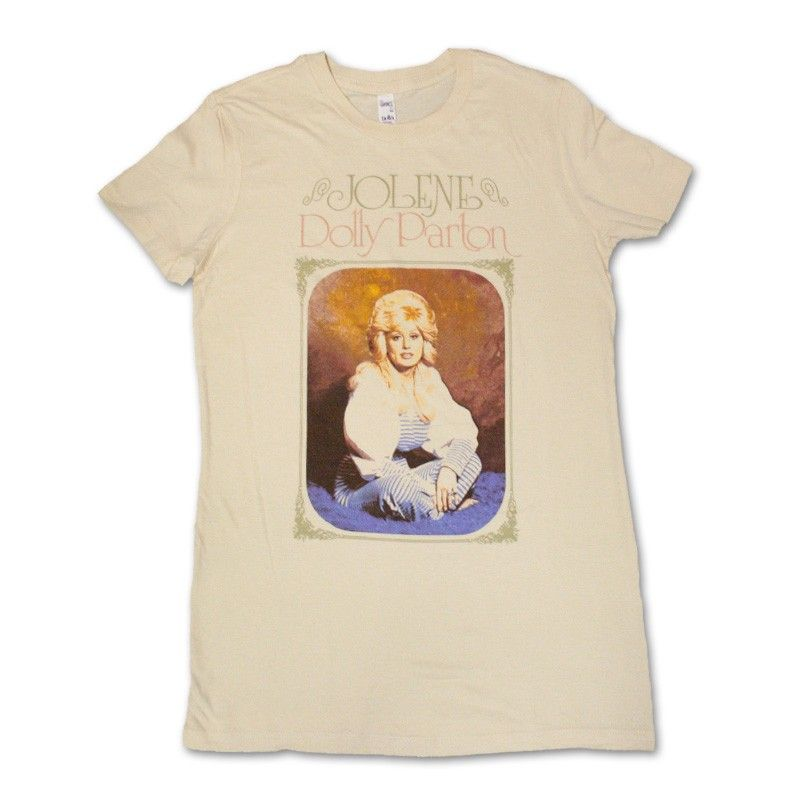 c4d49abaf Dolly Parton Official Store   Dolly Parton - Jolene French Vanilla Womens T- Shirt
