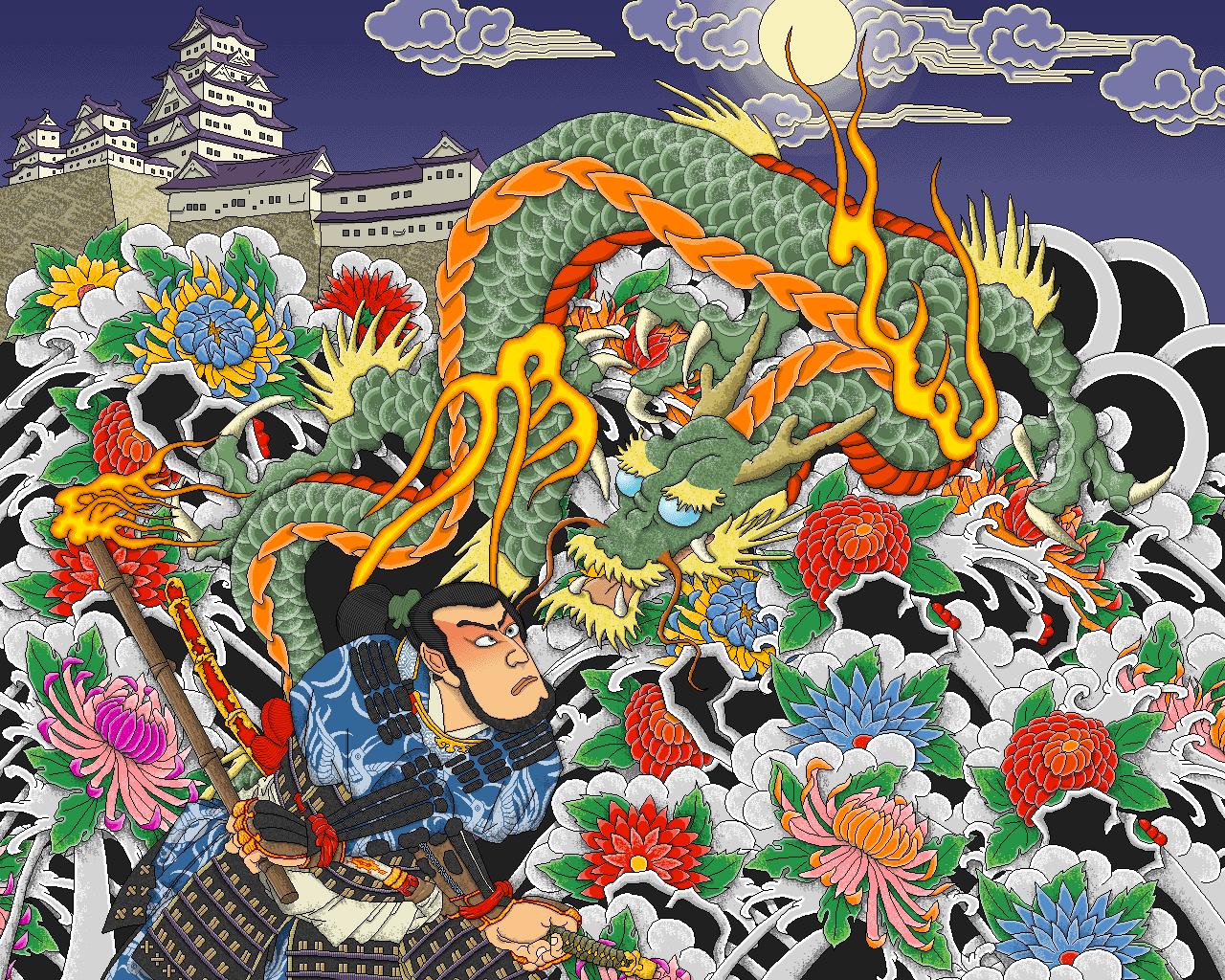 Yakuza Irezumi by kyodai on deviantART