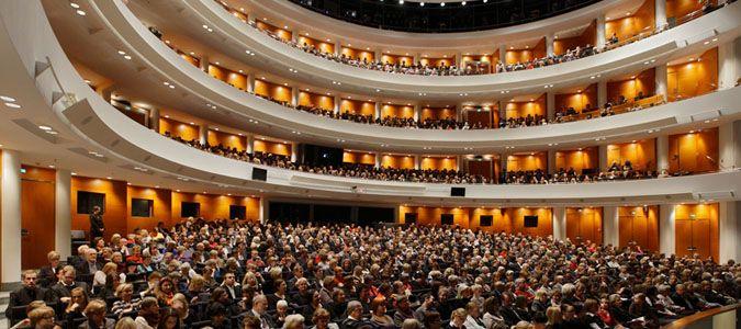 Opera house in Helsinki, Finland
