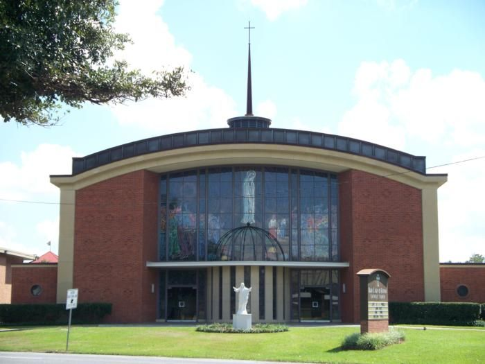 Our Lady Of Fatima Church Lafayette La Catholic Diocese Lafayette Roman Catholic