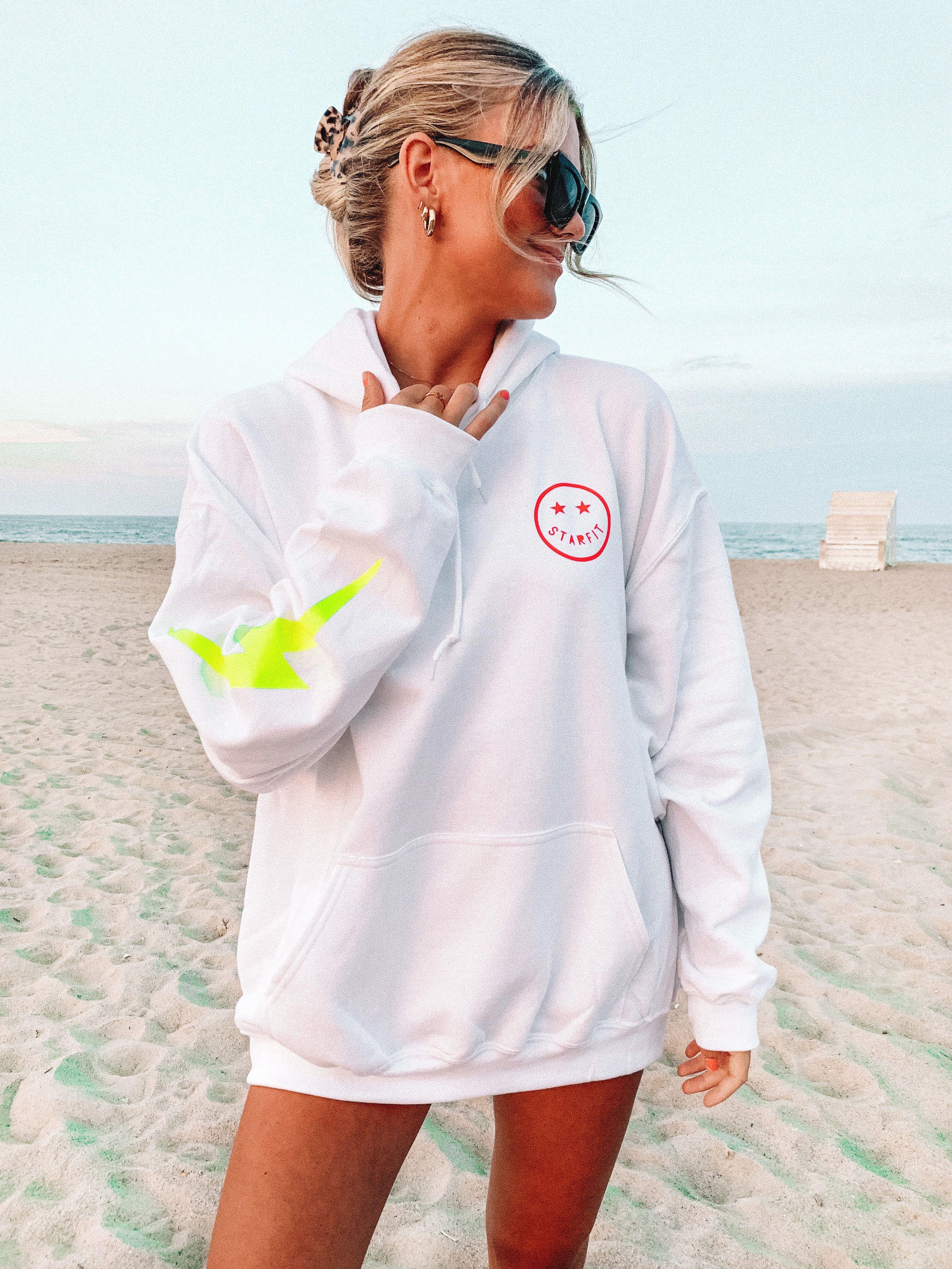 Starfit Hoodie Preppy Sweatshirts Cute Preppy Outfits Printed Hooded Sweatshirt [ 3842 x 2881 Pixel ]