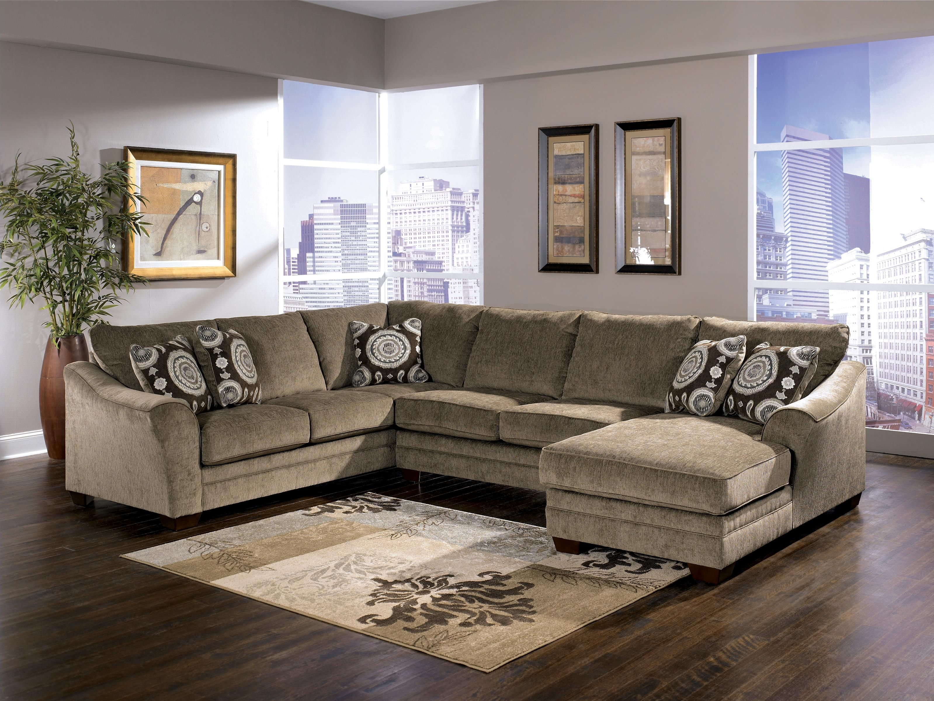 Cosmo Marble Sectional Sofa by Signature Design by Ashley