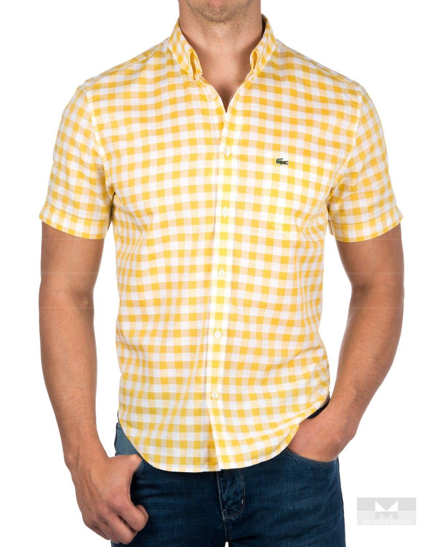 Camisas Lacoste manga corta