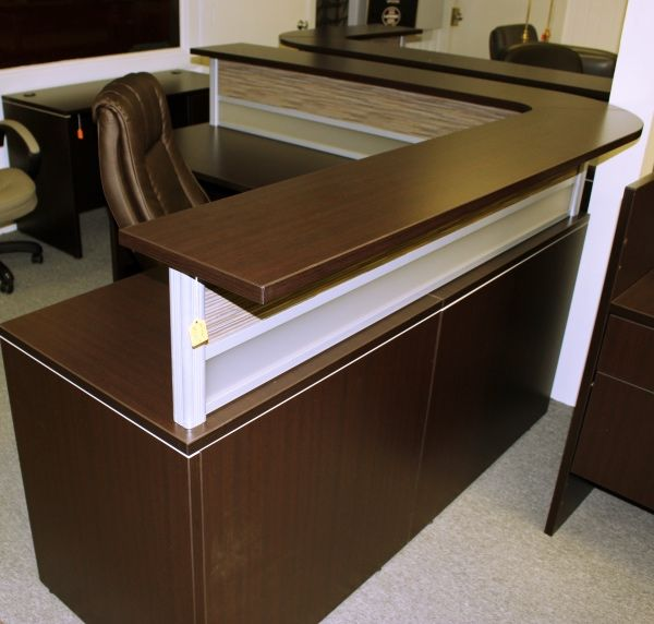 Office Source L Shape Reception Desk Reception Desks A