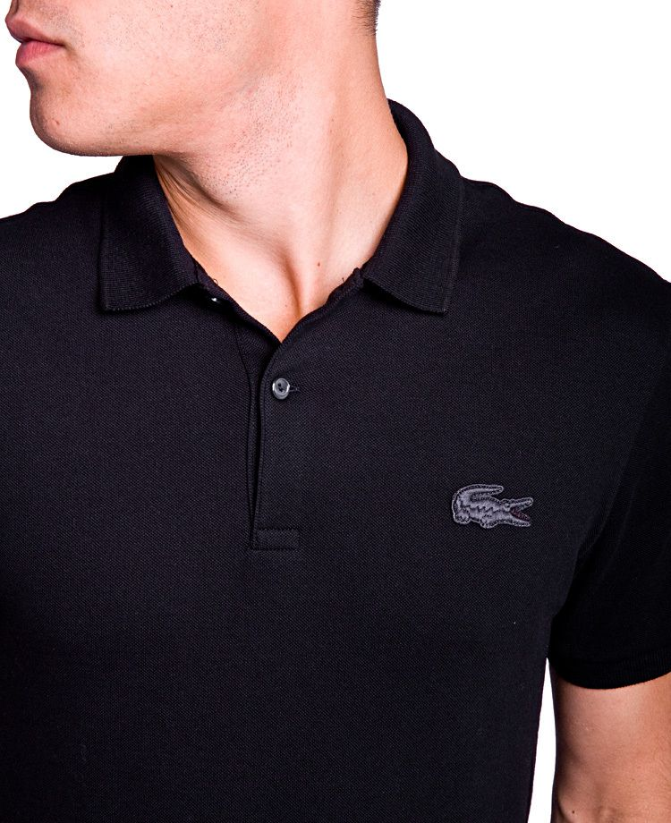 6818d167dc LACOSTE LIVE X LE BERLINOIS Polo Black | T-Shirts | Lacoste, Polo ...