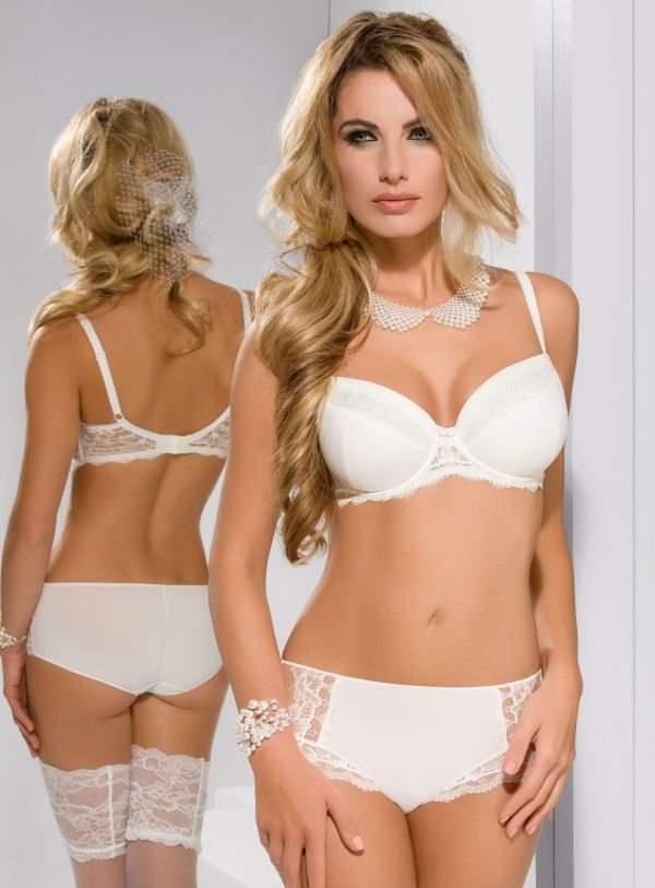 Sawren Candy Floss Padded Set | Lace, Briefs and Candy